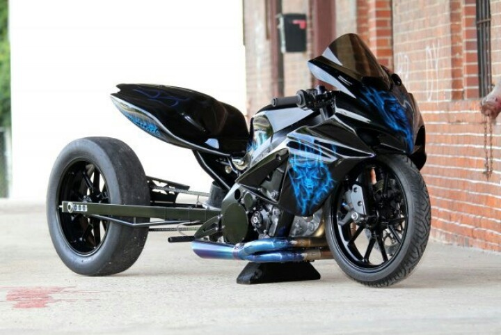 Nasty gsxr 1000 grudge bike