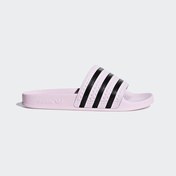 adidas Adilette Badslippers - roze | adidas Officiële Shop ...