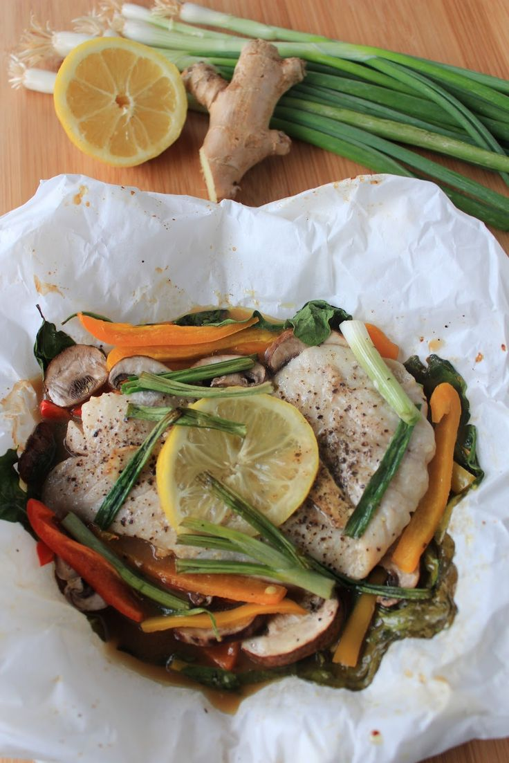 Forty Second Avenue: fish in parchment paper