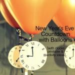 New Year's Eve Countdown with Balloons
