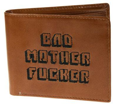 Bad Mother Fucker Lommebok,Kopi av Jules' lommebok i Pulp Fiction!