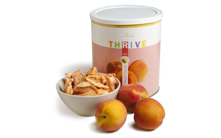 Peach Slices - Freeze Dried