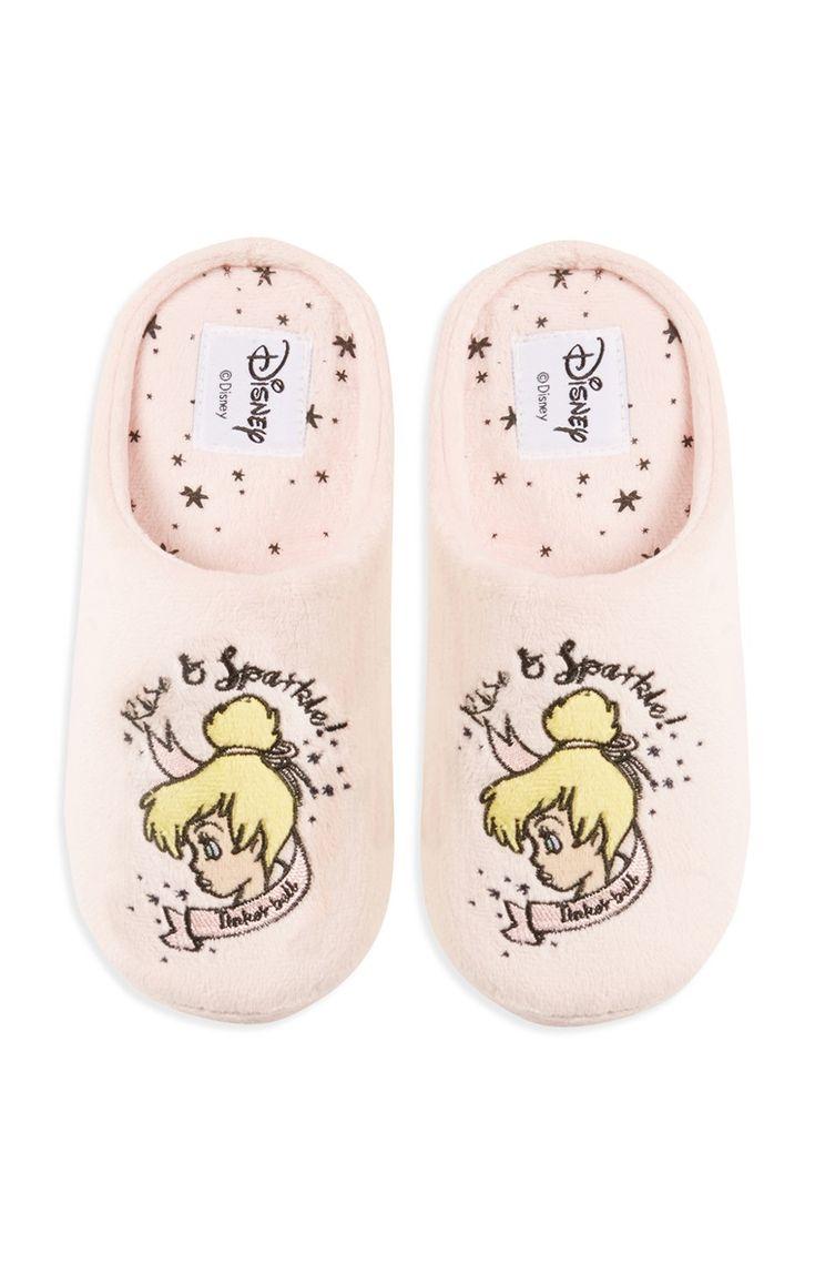 Disney-pantoffels met Tinkerbell