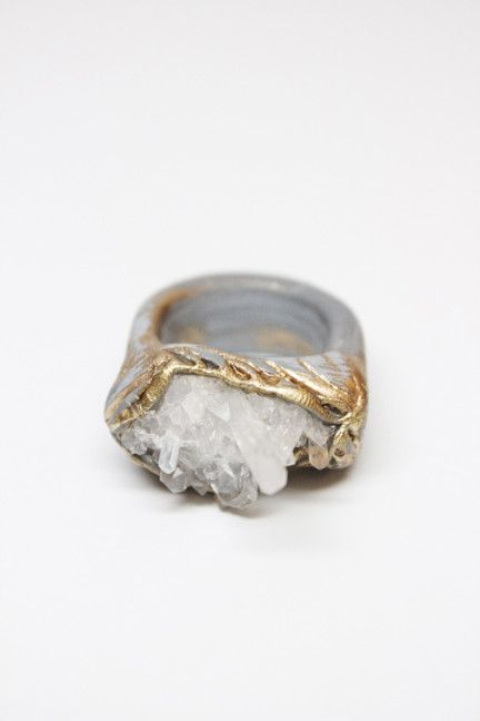 ADINA MILLS QUARTZ RING