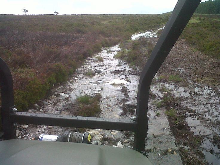Glenlivet Hill Trek on the Robbie McPherson Smugglers' Trail, Carn Daimh, Glenlivet.