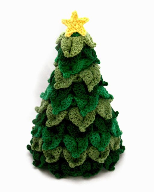10 Patrones Gratuitos de Árboles de Navidad en Amigurumi