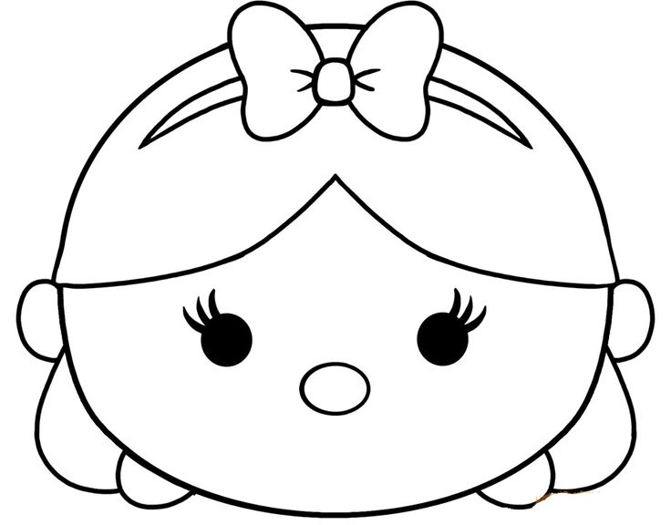 All Disney Tsum Coloring Pages