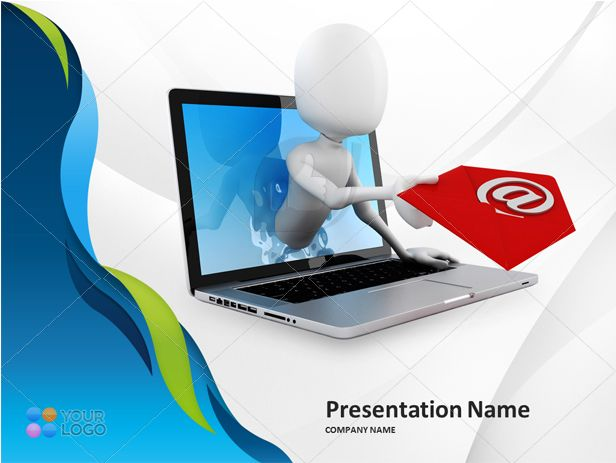 Now write mails in more professional ways through Mail concept Power Point Presentation slide.