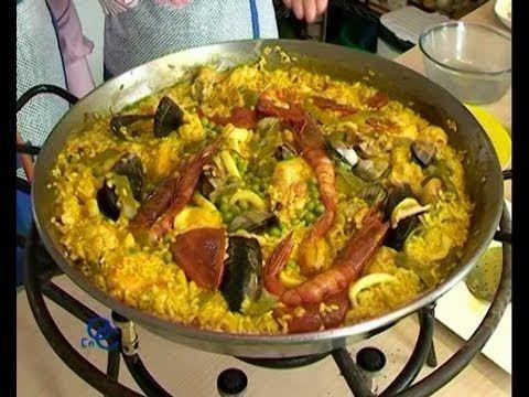 La autentica Paella del famoso restaurante Cafe de Chinitas en Madrid, receta y elaboracion