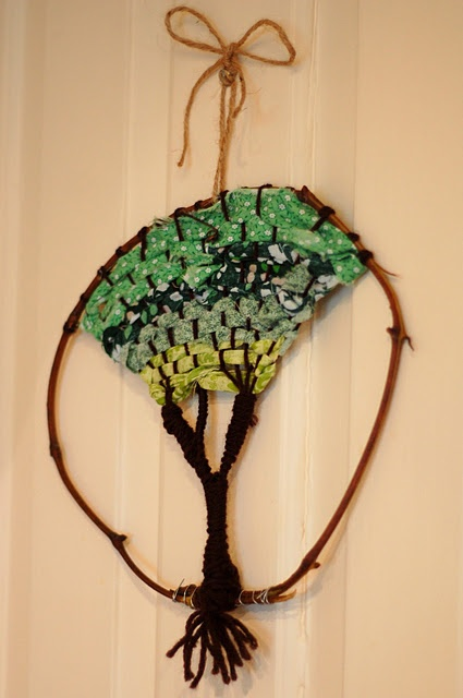 weaving project for when we are studying the parts of the tree.