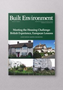 Meeting the Housing Challenge: British Experience, European Lessons | alexandrinepress.co.uk