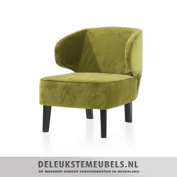 Dit leuke fauteuiltje Jarnac van Henders & Hazel is een unieke aanwinst voor ieder interieur. Het stoeltje heeft mooie stiksels op de zitting die 'm speels maken. De armleuningen lopen rond als een soort kommetje. Hij oogt lekker luchtig door de armleuningen en doordat hij wat hoger op zijn pootjes staat! De rechte koloniale pootjes vormen een mooi contrast. De fauteuil is gestoffeerd met de stof touch in de kleur groen.