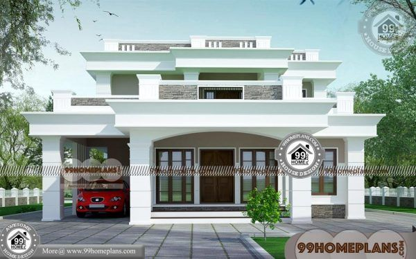 Modern Style House Plans With Images Kerala House Design House Porch Design
