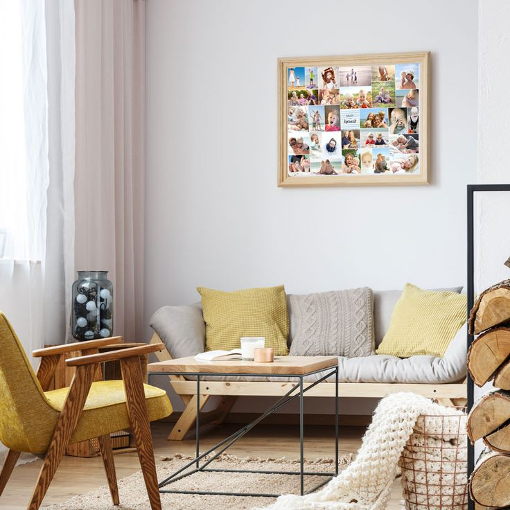 Creatieve ideeën voor muurdecoratie in de woonkamer