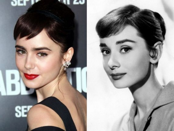 I just realized why I love Lily Collins so much, she resembles Audrey Hepburn in a way. My life now makes sense.