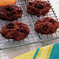 Double Chocolate Cherry Drops - Good Housekeeping