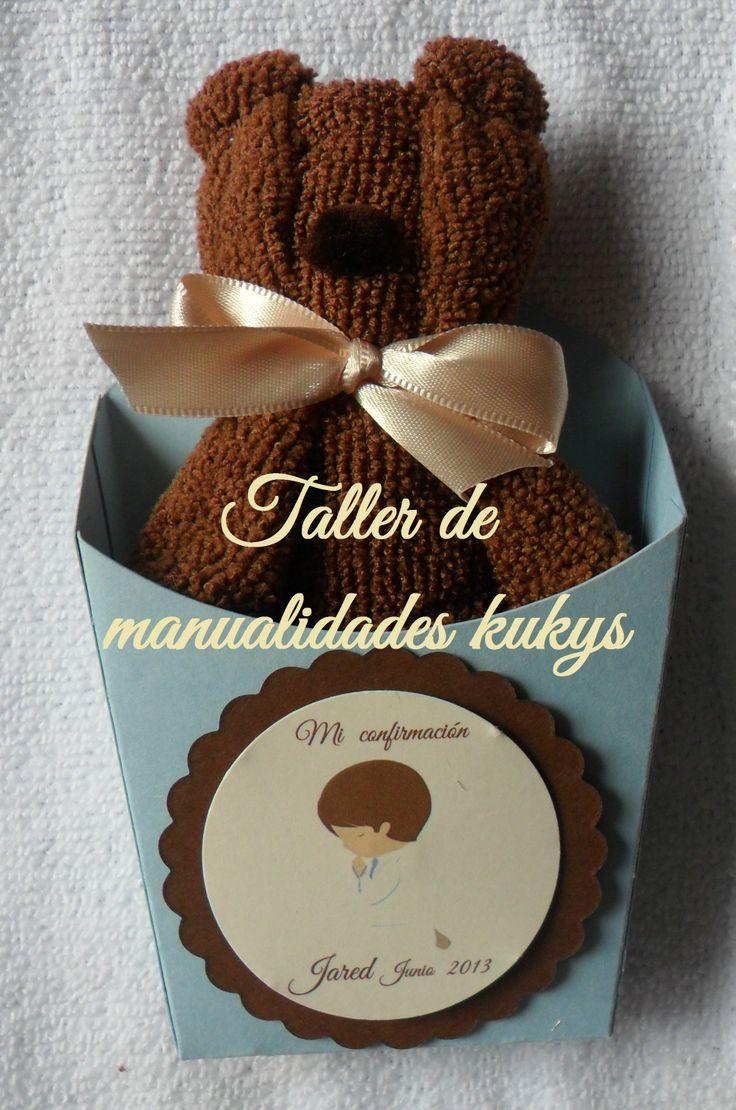 OSITOS DE TOALLA FACEBOOCK/ TALLER DE MANUALIDADES KUKYS