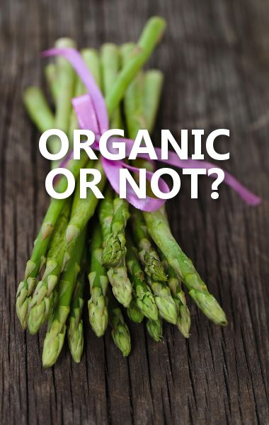 Dr Oz says you can buy non-organic Asparagus because it grows fast and does not require a lot of pesticides. http://www.drozfans.com/dr-oz-food/dr-oz-foods-can-buy-non-organic-canned-pumpkin-fiber-content/
