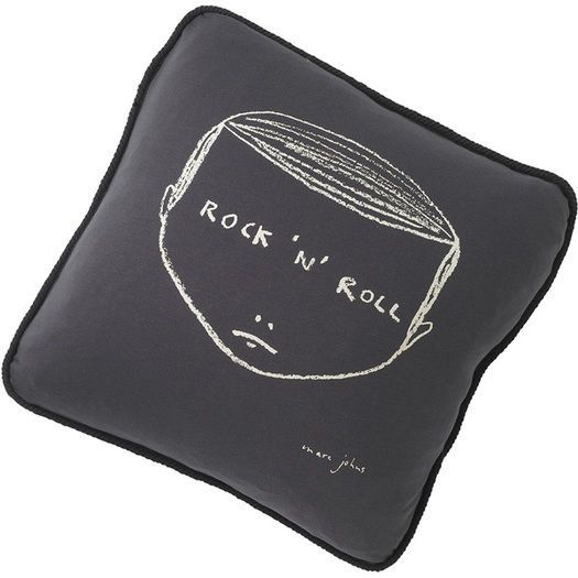 Rock no Roll Face cushion cover
