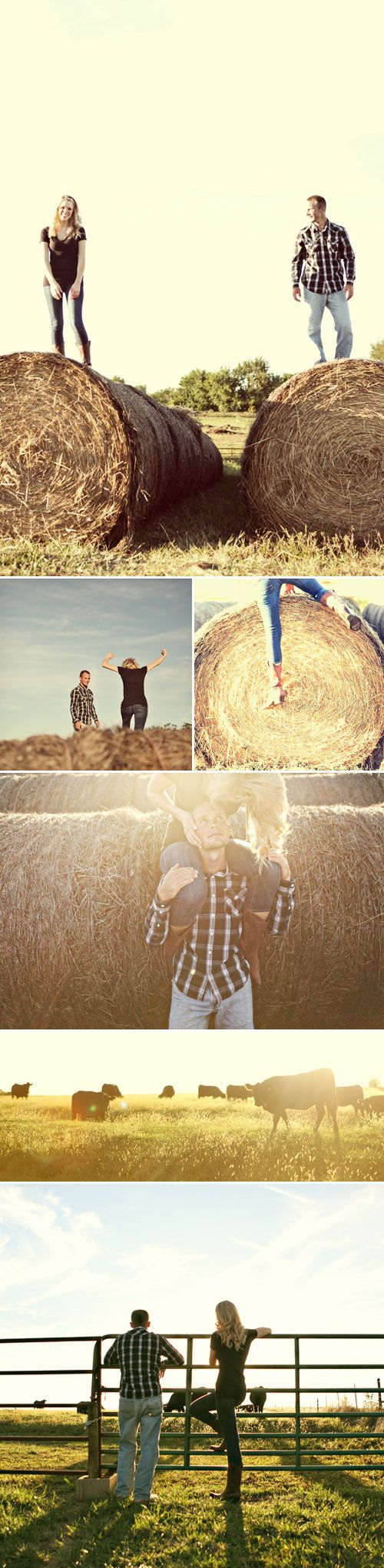 """down home""/country engagement pics - I think my friend Heather should take some photos like this with her family on their farm. And I'll come and get some too. ;)"