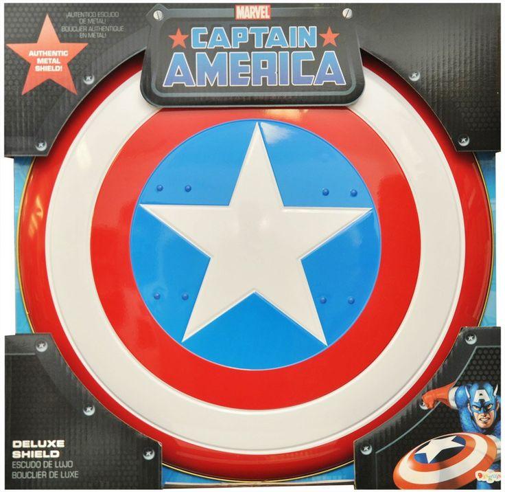 Authentic Licensed Prop Captain America Shield Metal Collect's 23 Superhero