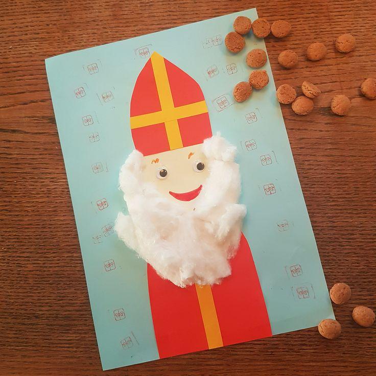 Sinterklaas: 101 ideeën om te knutselen – Leuk met kids #leukmetkids #Sinterklaas #Sint #Piet #knutselen