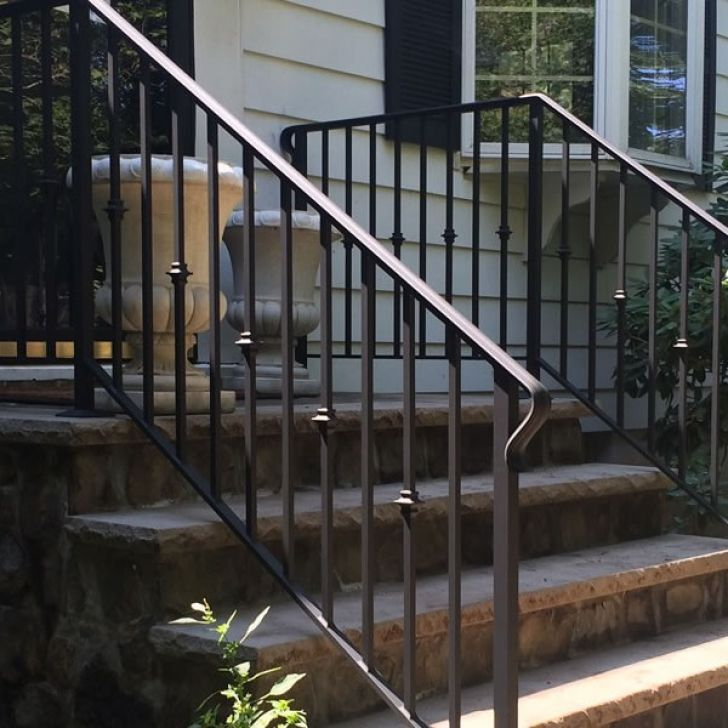 Near Perfect Metal Stair Railing Outdoor 4 Outdoor Iron | Outdoor Stairs Near Me