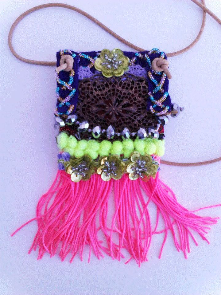 Gypsy necklace boho style by boutiqueofsandals on Etsy