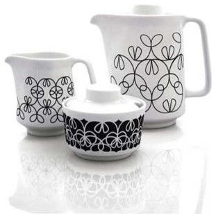 Black Ribbon Coffee Set by notNeutral contemporary specialty cookware