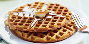 Cook's Country Light and Crispy Waffles and Butter Pecan Syrup Don't ...