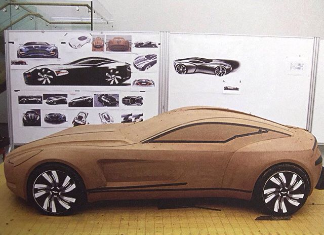 Aston Martin One 77 Clay Model #cardesign #car #design #clay #