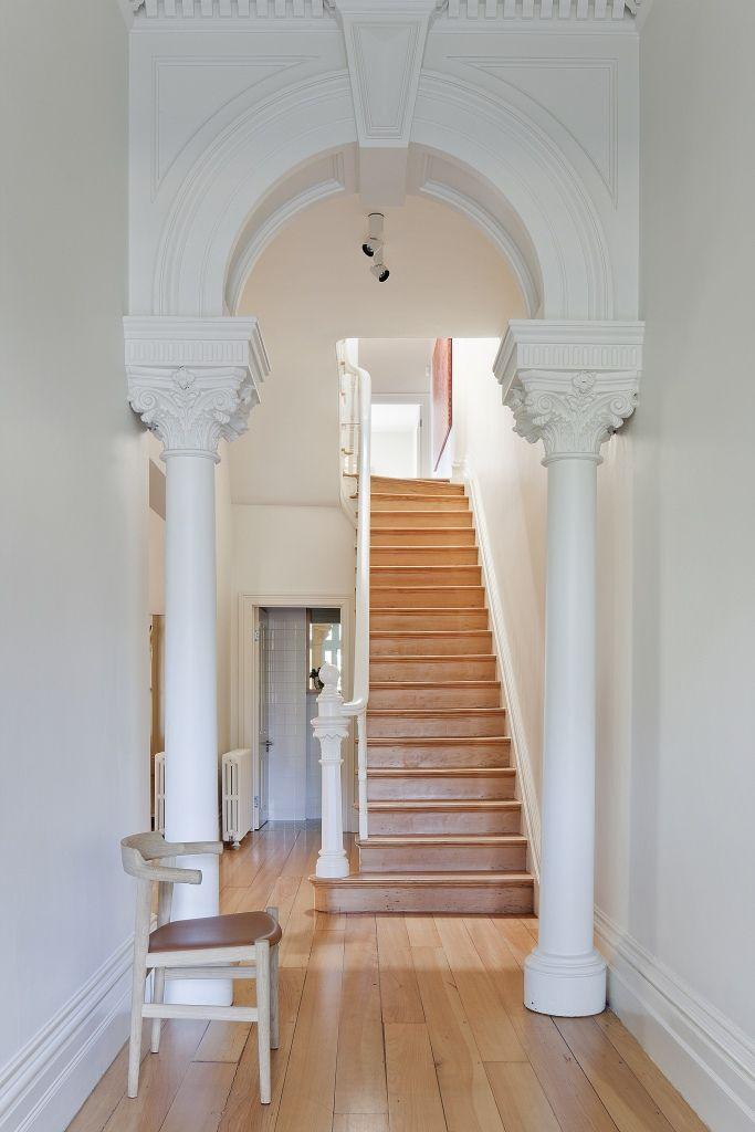 mouldings - wood stairs   b rowe ©smg