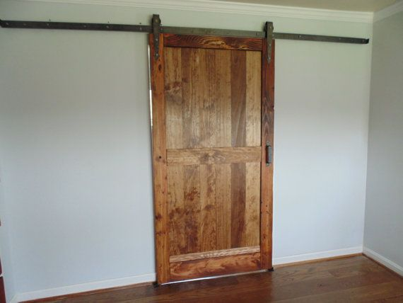 1000 images about barn doors on pinterest barn doors for Farmhouse sliding door