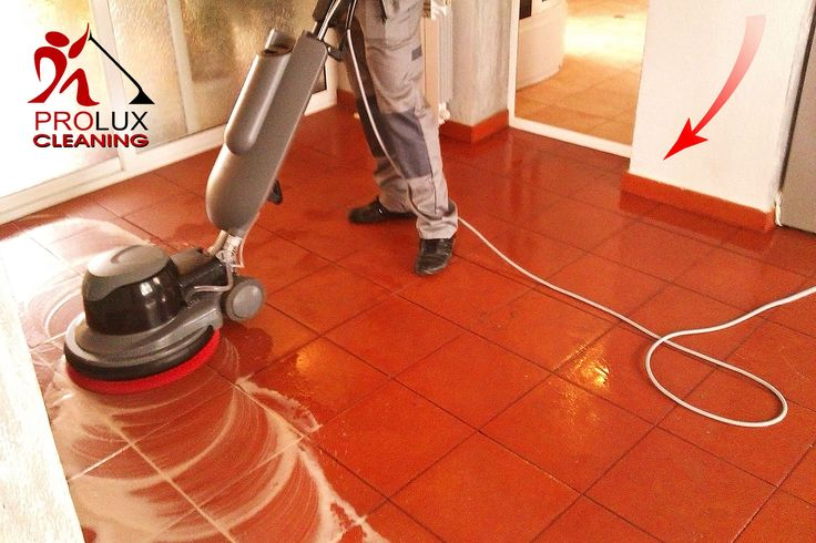 Commercial End of Tenancy Cleaning Company London. Machine hard floor cleaning.