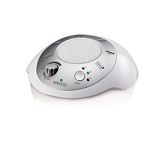 Create a relaxing environment anywhere with the HoMedics Sound Spa Portable Sound Machine.  Six different digitally recorded natural sounds mask di...