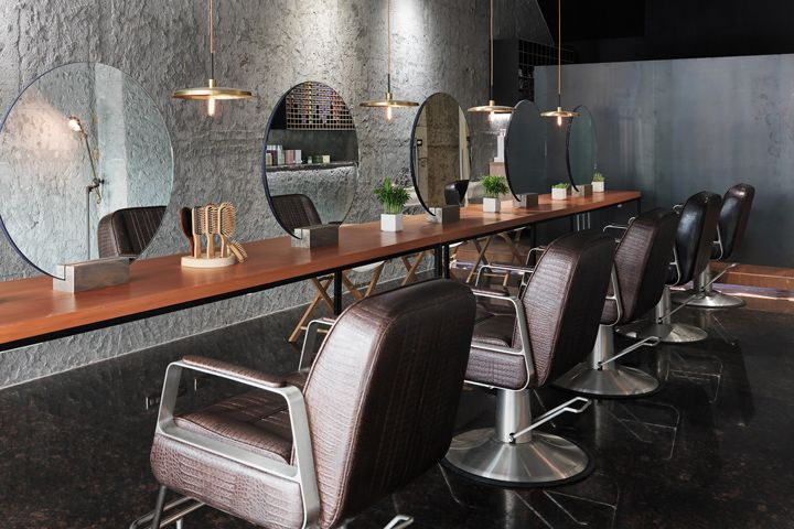 23 best salon images on pinterest barber salon beauty bar and luna salon by soar design changhua city taiwan malvernweather Image collections