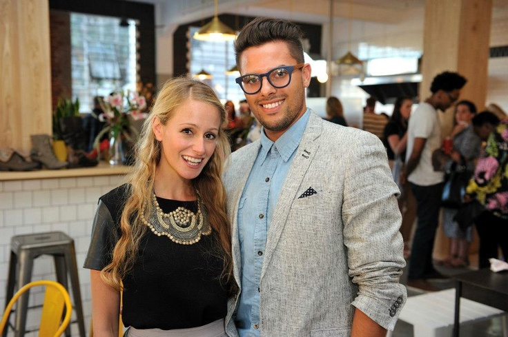 Alexis from the Expresso Show and Elrico from LUXO
