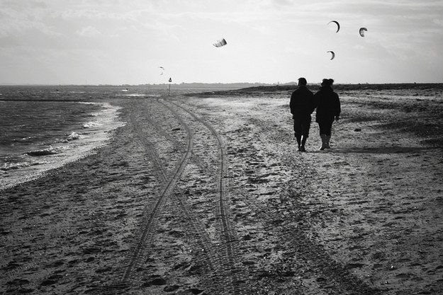 Drive to West Mersea and take an evening stroll along the beach. | West Mersea's beach is lovely during the day too, but due to it's tranquil and tucked away location, it makes the perfect setting for a romantic evening walk.27 Things You Must Do Once In Essex