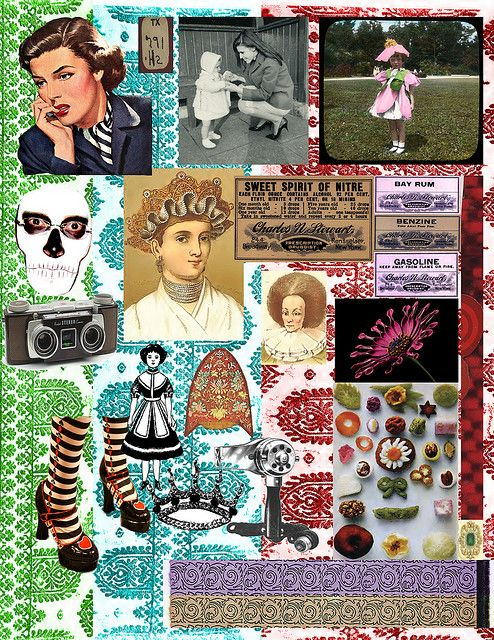 collage sheets free | random digital collage sheet - free for personal use | Flickr - Photo ...