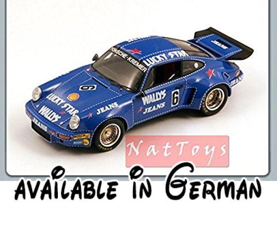 SPARK MODEL S18088 PORSCHE 911 RSR N.6 NURBURGRING 1974 1:18 MODELLINO DIE CAST. Peso/Weight: Kg. 1.2 #Toy #TOYS_AND_GAMES