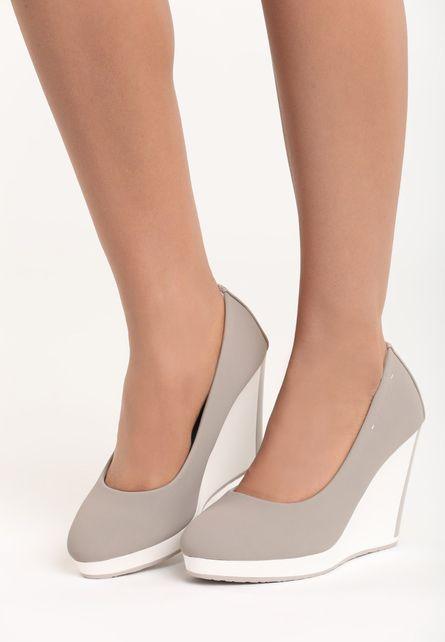 Pantofi cu platforma Mairen Gri