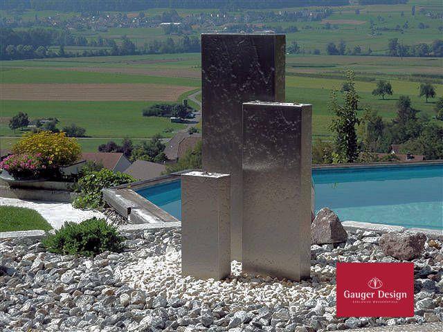 24 besten Gartenbrunnen aus Edelstahl Bilder auf Pinterest - gartenbrunnen modernes design