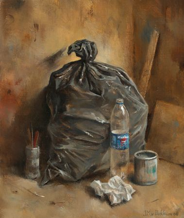 "Marius van Dokkum (Dutch, born 1957) ""Refuse sack"""