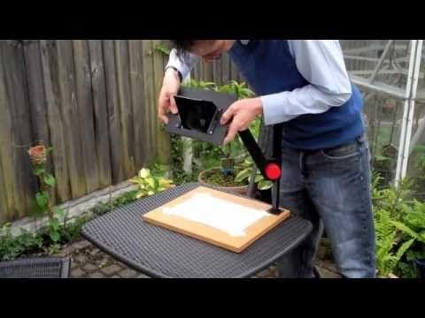 DIY Camera Lucida Project - YouTube