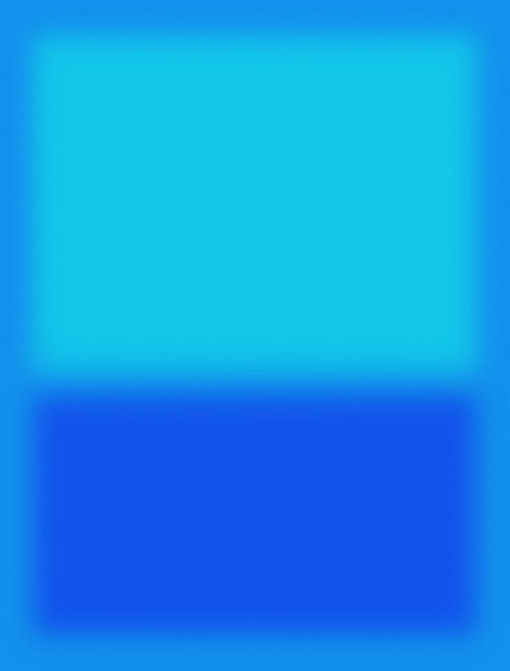 "Mark Rothko - ""Blue""                                                                                                                                                      Más"