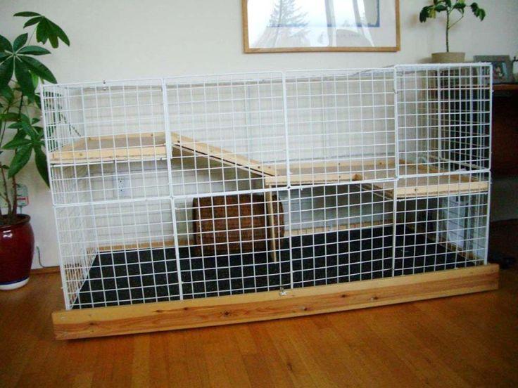 1000 id es sur le th me cage lapin sur pinterest lapin. Black Bedroom Furniture Sets. Home Design Ideas