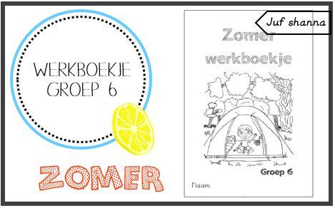 Thema zomer: werkboekje voor groep 6