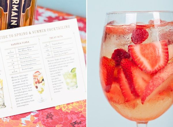 Summer Drink Recipes from St-Germain - Sugar and Charm - sweet recipes - entertaining tips - lifestyle inspiration