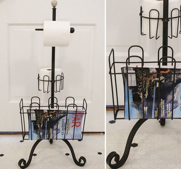 Toilet Paper Stand | Standing Toilet Paper Holder