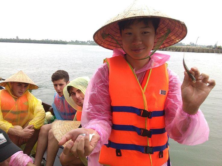 Trophy of the day. #VietnamSchoolTours #MekongDelta